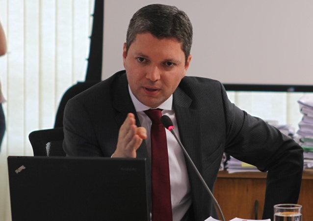 Fabiano Silveira, ministro de Transparencia de Brasil