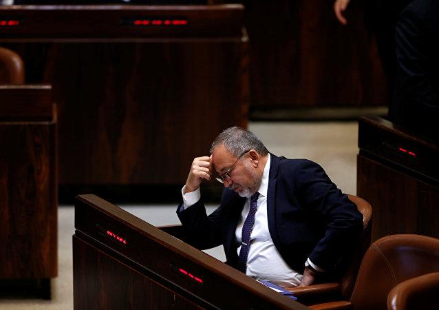 Avigdor Lieberman, el ministro de Defensa de Israel (archivo)
