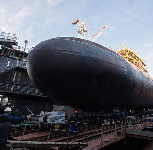 Un submarino del proyecto 636
