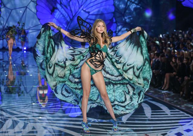 Gigi Hadid, modelo de Victoria's Secret