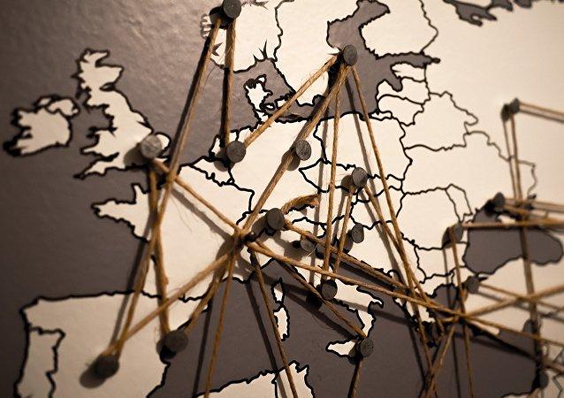 El mapa de Europa (imagen referencial)