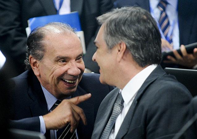 Aloysio Nunes, senador del Partido de la Social Democracia de Brasil