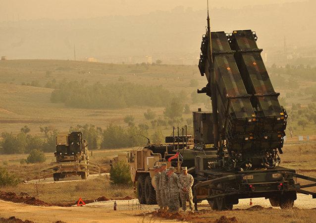 El sistema antimisiles de la OTAN desplegadas en Turquía para defenderse de los ataques desde Siria