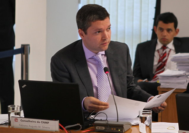 Fabiano Silveira, exministro de Transparencia de Brasil