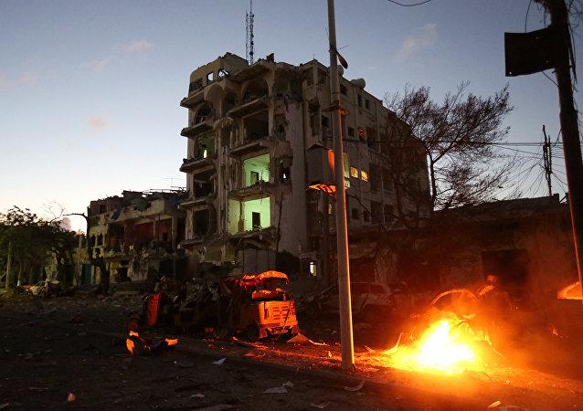 Sube a 15 la cifra de muertos por explosición en Somalia
