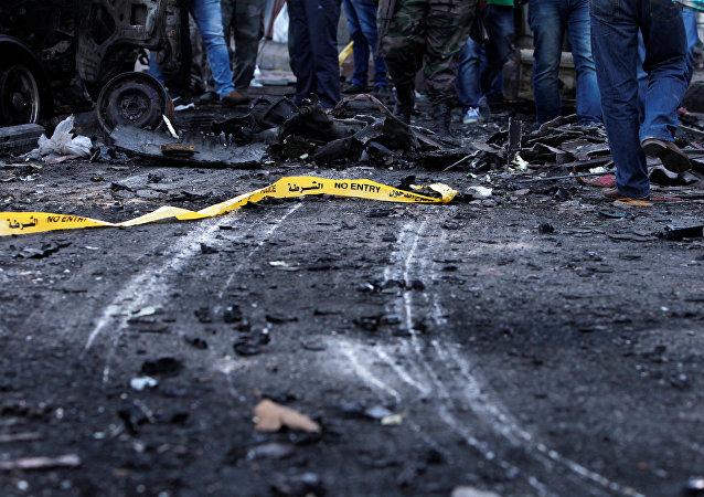 Atentado suicida en Siria (archvio)