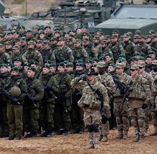 Ejercicios de la OTAN en Lituania (archivo)