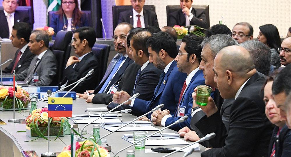 Ministros de petróleo de los países miembros de la OPEP (archivo)