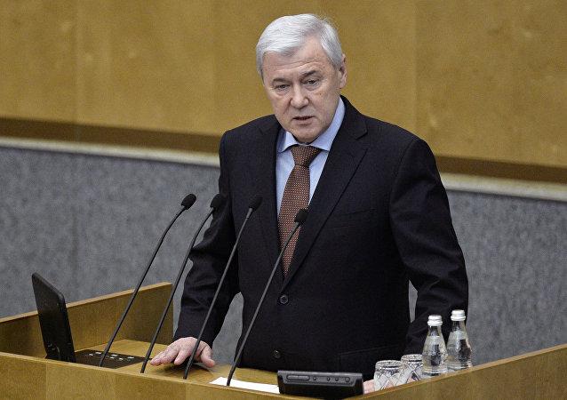 Anatoli Aksákov, presidente del comité de Política Económica de la Duma de Estado