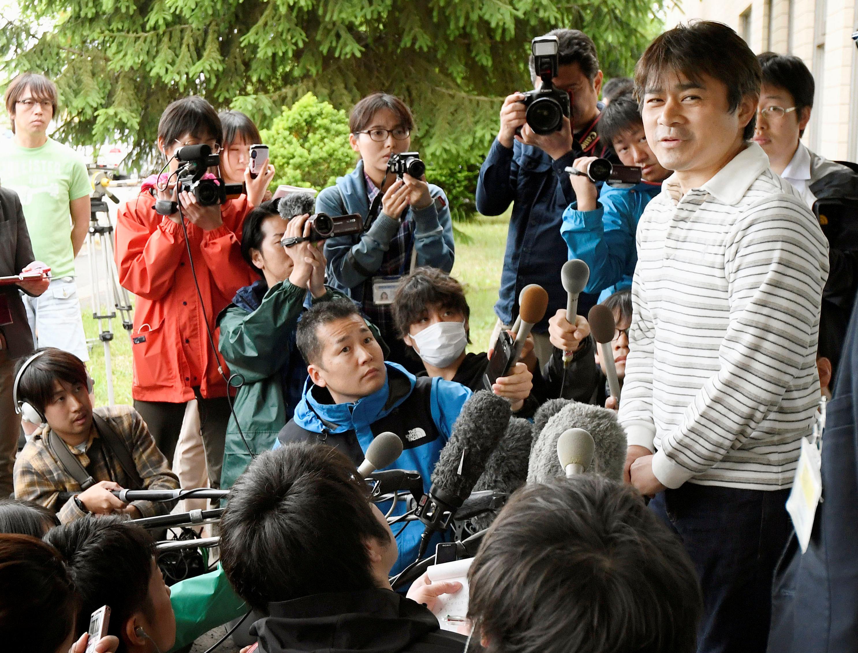 Takayuki Tanooka, padre del niño perdido