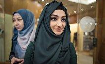 Mujeres en hiyab