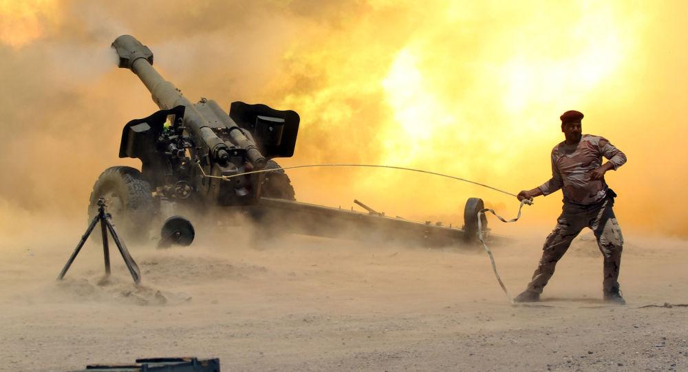 Ejército iraquí lucha contra Daesh