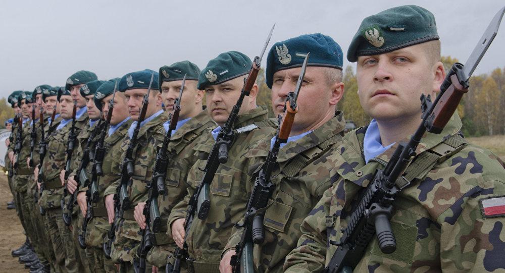 Militares polacos (archivo)