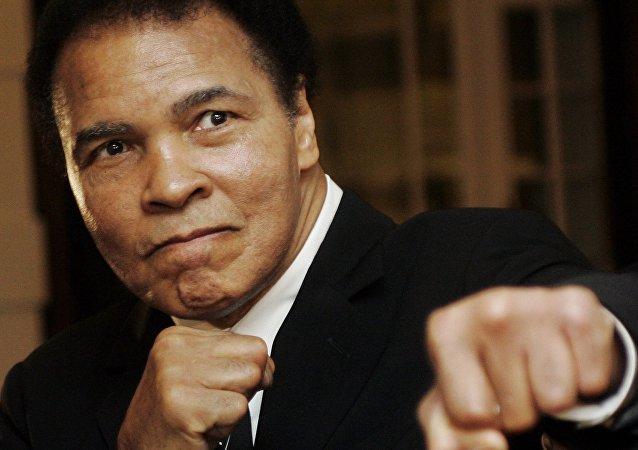 La leyenda del boxeo mundial, Muhammad Ali