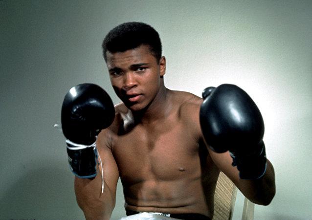 La leyenda del boxeo mundial, Mohamed Alí