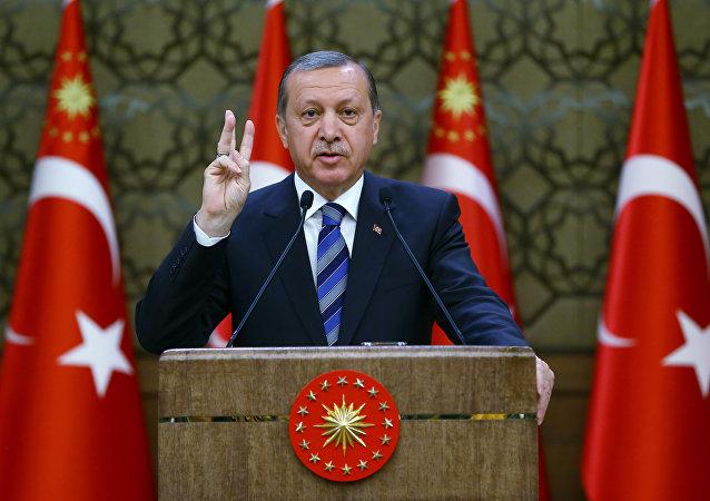 El presidente turco, Recep Tayyip Erdogan (archivo)