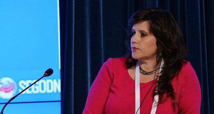 Eva Golinger, la abogada y periodista estadounidense