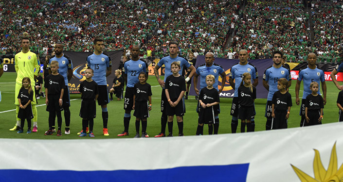 La selección de Uruguay