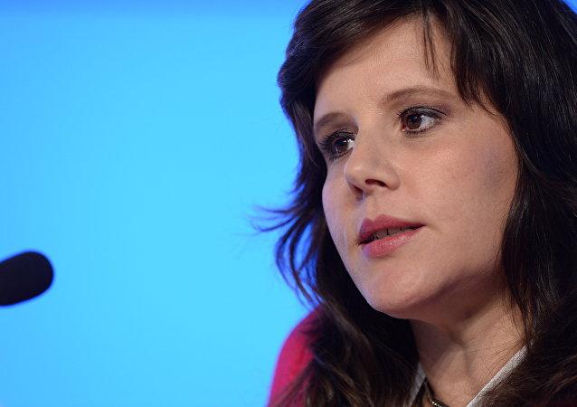 Eva Golinger, abogada y periodista estadounidense