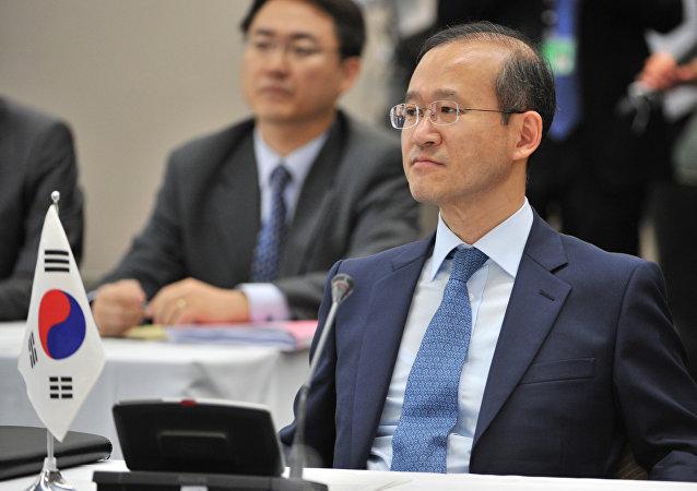 Lim Sung-nam, viceministro de Exteriores de Corea del Sur