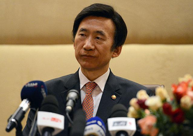 Yun Byung, ministro de Exteriores de Corea del Sur