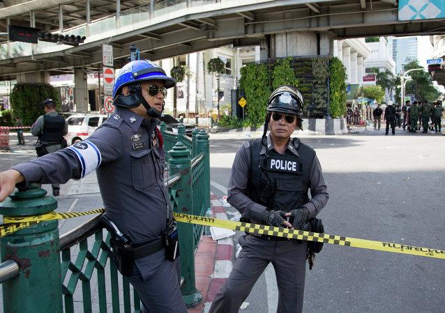 Policías tailandeses (archivo)