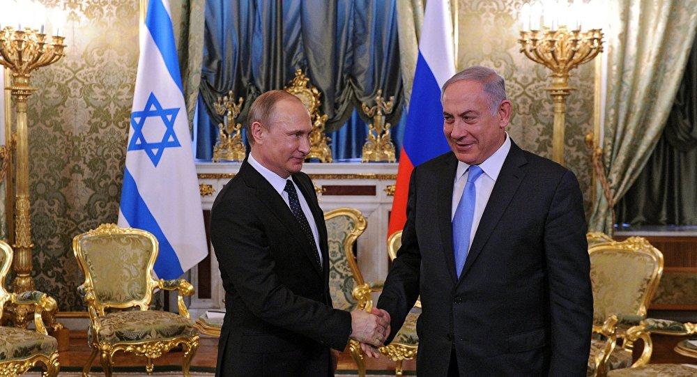 Vladímir Putin, presidente de Rusia, y Benjamín Netanyahu, primer ministro israelí (archivo)