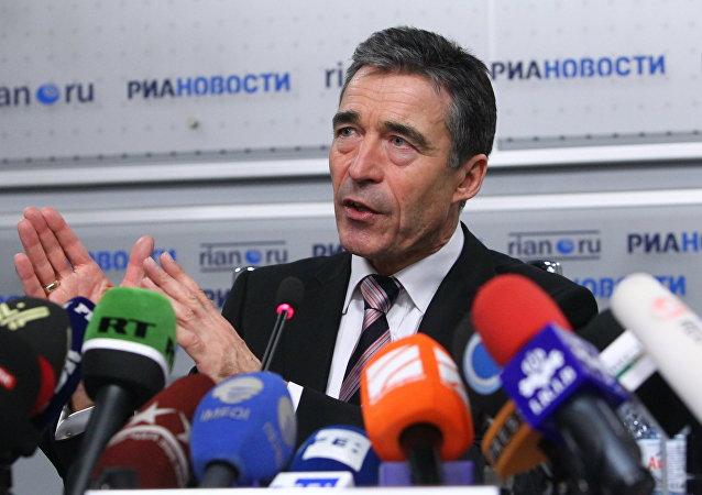 Anders Fogh Rasmussen, exsecretario general de la OTAN