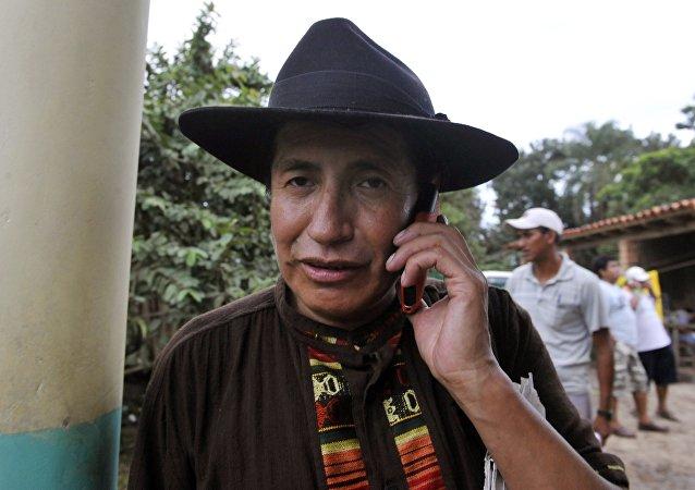 Rafael Quispe, diputado del partido boliviano Unidad Nacional