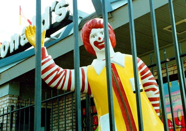 Ronald McDonald, la mascota oficial de McDonald's