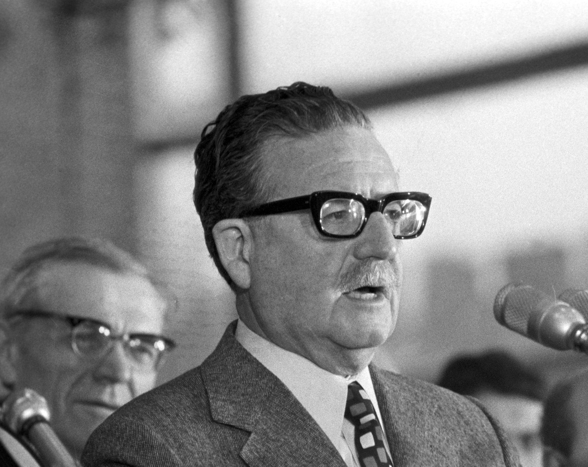 Salvador Allende en la URSS