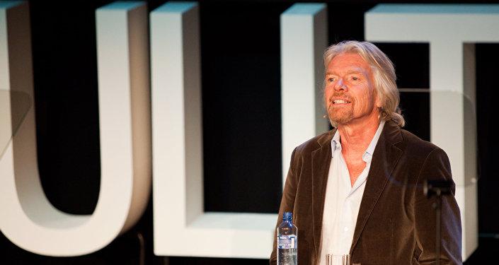 Sir Richard Branson, fundador de Grupo Virgin