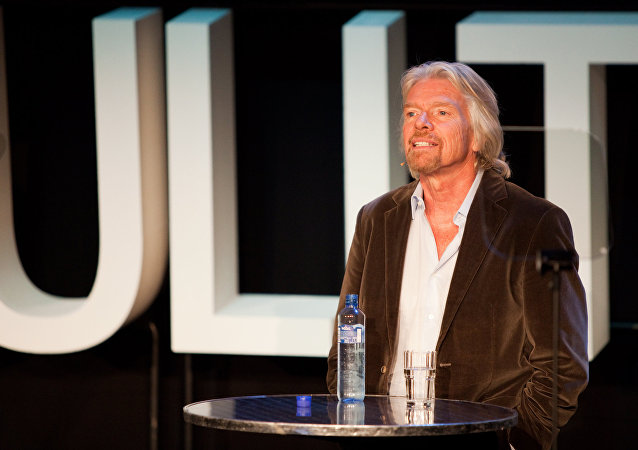 Sir Richard Branson, fundador de Grupo Virgin