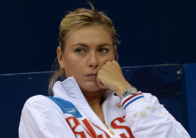 María Sharápova, famosa tenista rusa