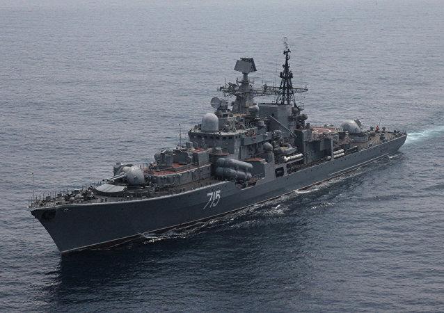 Destructor de la Armada Rusa