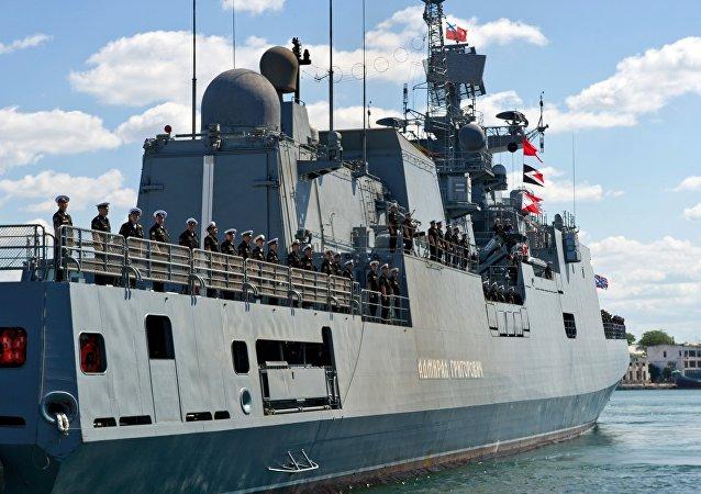 La fragata Almirante Grigoróvich