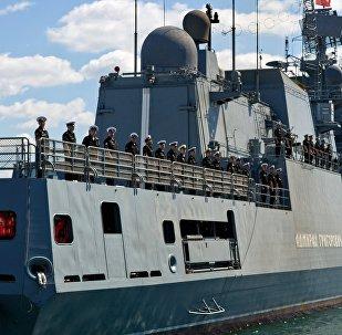 La fragata Almirante Grigoróvich (archivo)