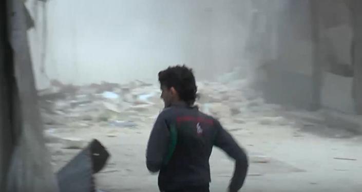 Ataque terrorista a un mercado de Alepo, junio de 2016