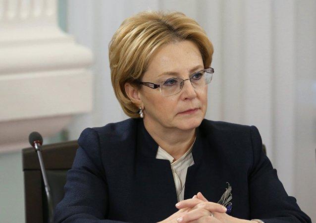 Veronika Skvortsova, la ministra rusa de Sanidad