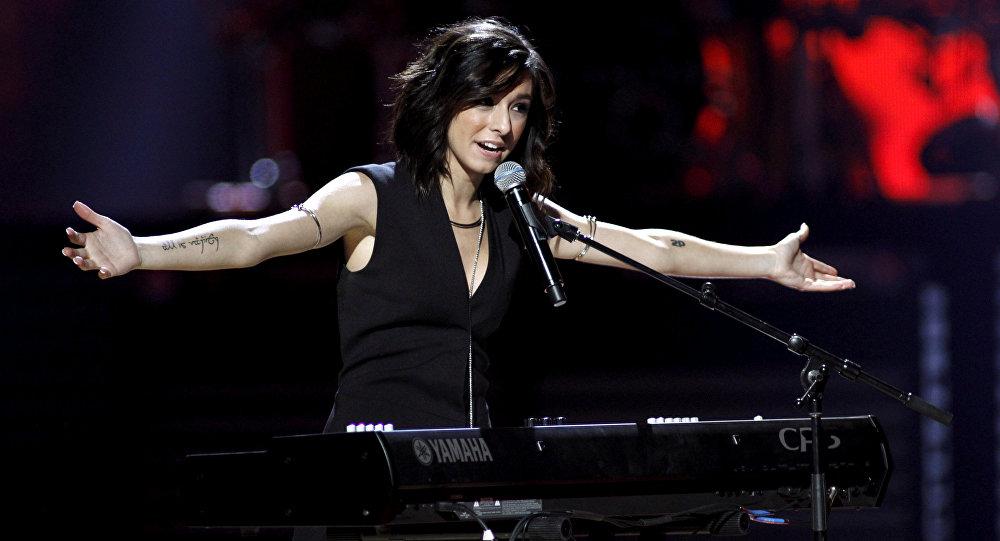 Christina Grimmie, cantante (archivo)