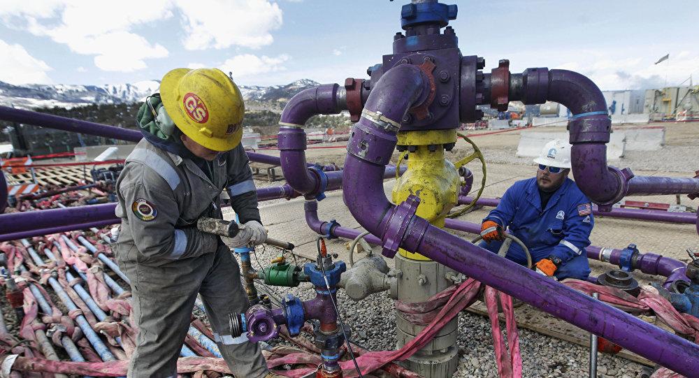 Fracking en EEUU (archivo)