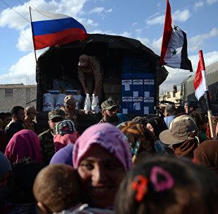 La ayuda humanitaria de Rusia para Siria (archivo)