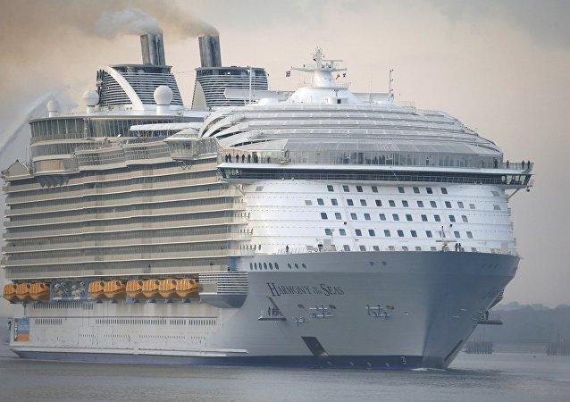 El crucero Harmony of the Seas