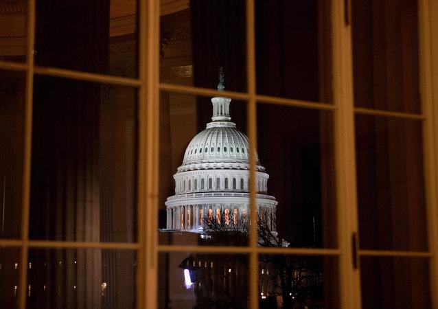 Senado de EEUU, imágen referencial