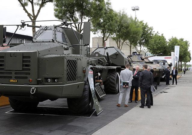 La exposición militar Eurosatory 2016