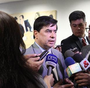 Juan Fernando Cristo, ministro del Interior de Colombia