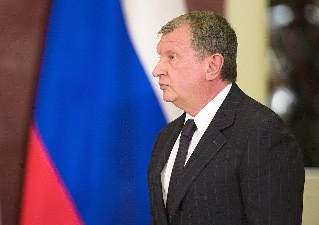 Igor Sechin, el presidente de la petrolera rusa Rosneft