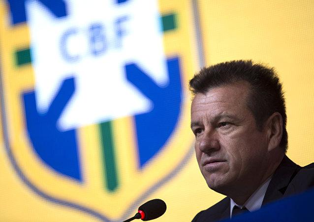 Dunga, el exentrenador de la selección brasileña de fútbol