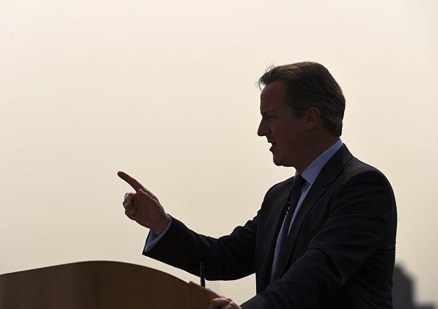 David Cameron, ex primer ministro del Reino Unido
