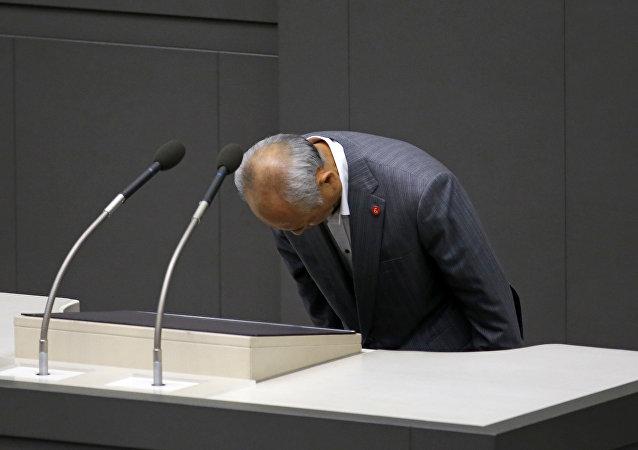El alcalde de Tokio Yoichi Masuzoe presenta su dimisión, 15 de junio 2016